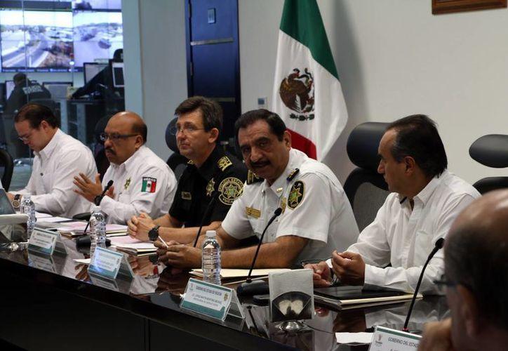 El secretario de Seguridad pública, Luis Felipe Saidén, destacó el interés de prevenir los frecuentes accidentes viales en el estado.(Milenio Novedades)