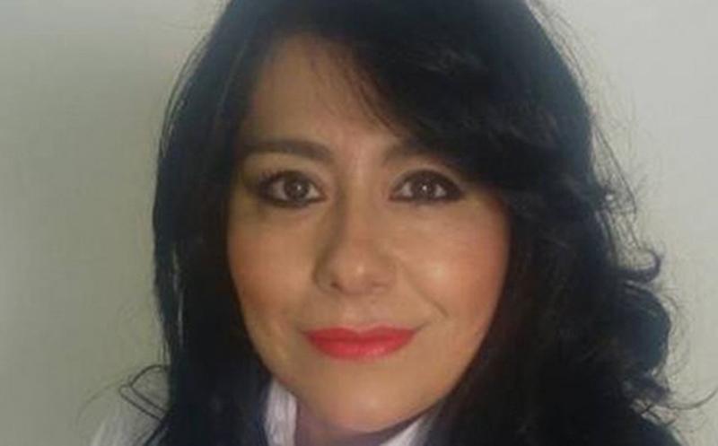 Claudia Olivas Duarte, era candidata para una alcaldía de Morena en Zacatecas. (Fuente: Internet)