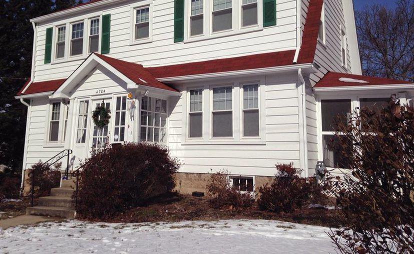 La casa de Darion Marcus Aguilar en el College Park. La policía informó que disparó y mató a dos personas antes de suicidarse con el mismo arma. (Agencias)