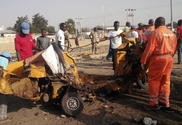 Desde que el ejército expulsó a los extremistas, Boko Haram ha estado atacando blancos vulnerables. (AP/Jossy Ola)