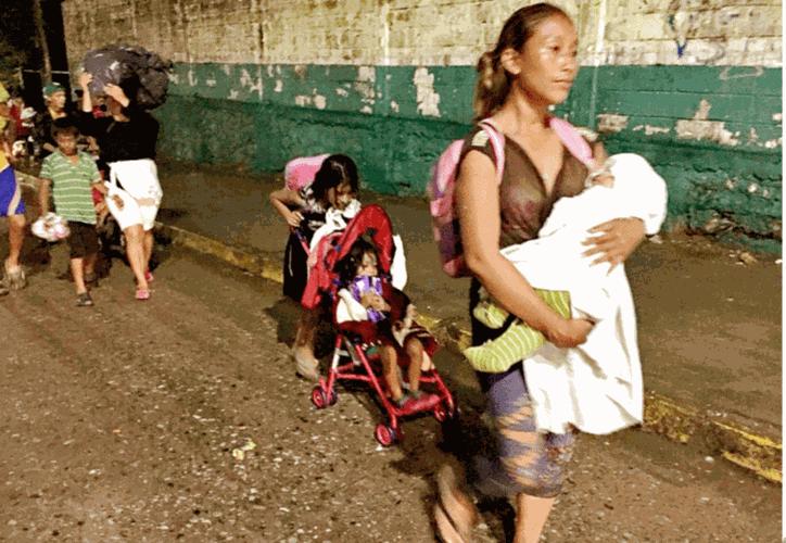 Esta familia forma parte de los 100 migrantes desaparecidos tras su paso por territorio mexicano. (Debate)