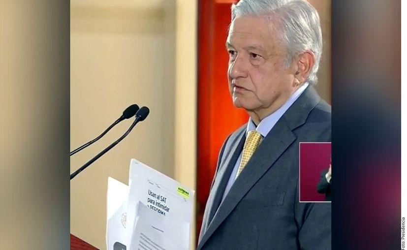 El Presidente Andrés Manuel López Obrador aseguró que su Gobierno no persigue a nadie. (Foto: Presidencia)