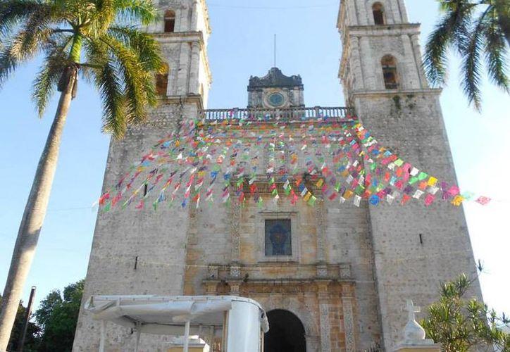 Valladolid sería el segundo sitio en Yucatán en obtener la declaratoria de Patrimonio Nacional. En la imagen, la iglesia de San Servasio. (Francisco Pantoja/SIPSE)