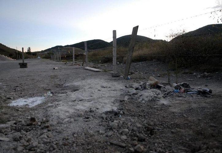 Imagen de archivo de la zona en donde fueron hallados varios cuerpos, en Chilapa, Guerrero. (NTX)