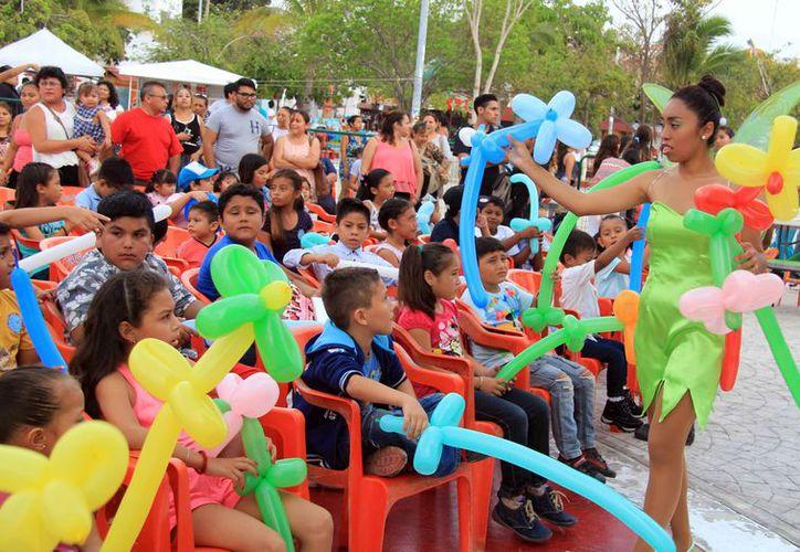 Durante el evento se desarrollaron varias actividades. (Luis Soto/SIPSE)