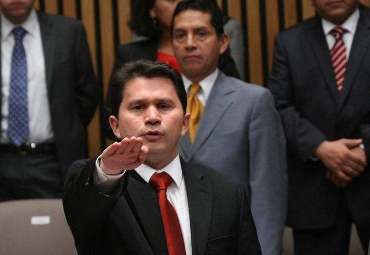 Actualmente, Sahuí Rivero es secretario de Desarrollo Social del Gobierno del Estado, cargo que asumió el 29 de septiembre de 2015. (SIPSE)