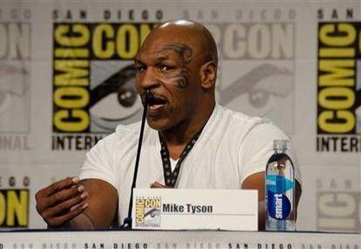 Mike Tyson mencionó su gusto por la actuación.(Foto: The Associated Press)