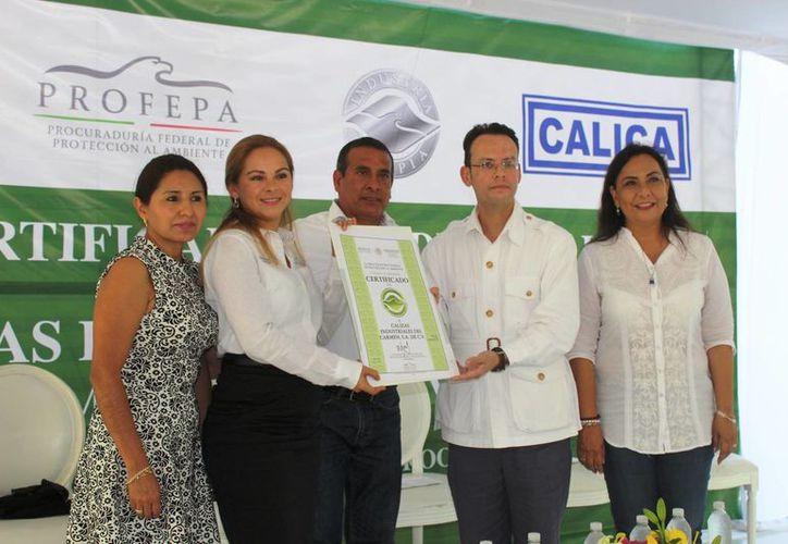 Esta es la sexta ocasión que esta empresa recibe la certificación. (Octavio Martínez/ SIPSE)