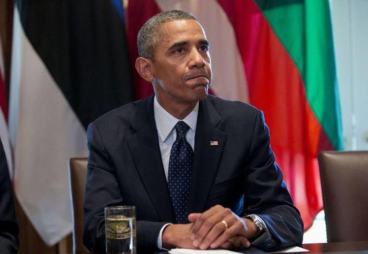 El mundo no debe aceptar muertes por ataques químicos, sentenció Obama. (Agencias)