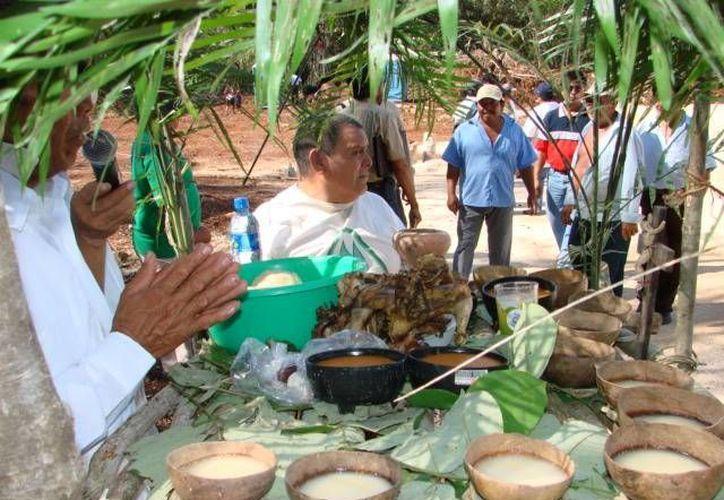 """En la ruta de Los Chunes, la población depende del """"maíz sagrado"""" para subsistir. (Manuel Salazar/SIPSE)"""