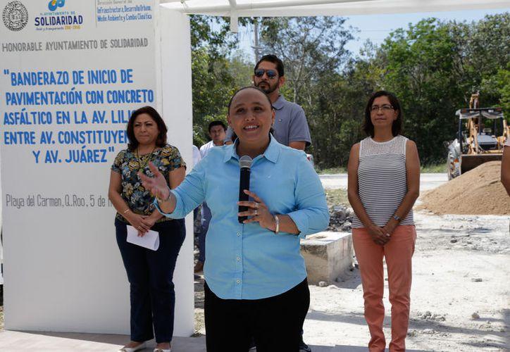 Inició la pavimentación de la avenida Lilis, entre Juárez y Constituyentes, y la del Tecnológico. (Redacción/SIPSE)