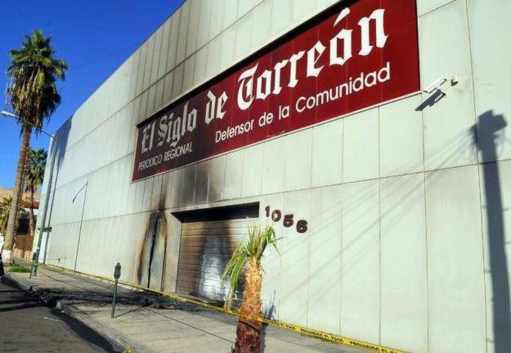 El Siglo de Torreón ha sufrido otros ataques en 2009 y 2011. (elsiglodetorreon.com.mx)