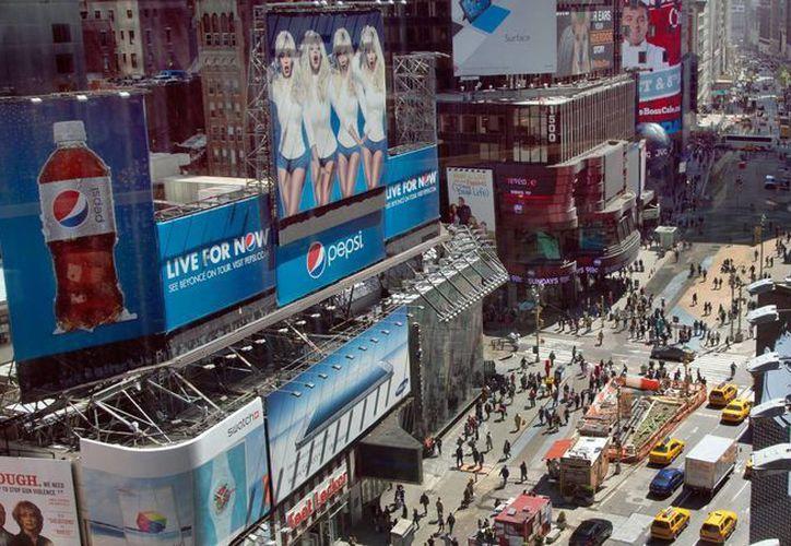 La imagen de San Diego ha aparecido en el concurrido Times Square de Nueva York. (Archivo/Agencias)