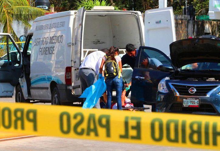 Reconocían la existencia de temor de que los hechos violentos que se habían suscitado en la zona hotelera de Cancún. (Adrián Barreto/ SIPSE)