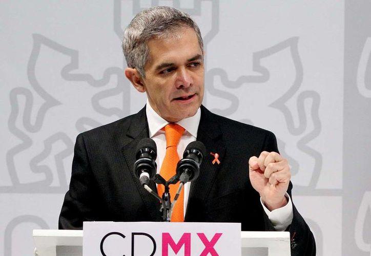 Mancera asegura que los trabajos de rehabilitación del Metro de la Ciudad de México permitirá mejorar la movilidad de los ciudadanos. (Archivo/Notimex)
