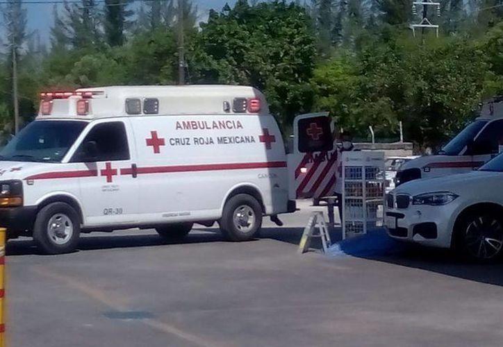 El ataque con arma de fuego se registró en una gasolinera. (Eric Galindo/SIPSE)