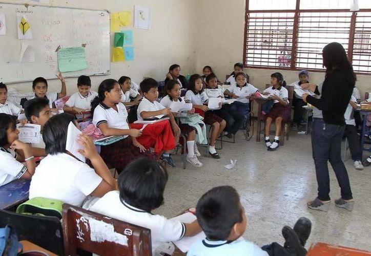 Niños de la zona norte de Quintana Roo regresan a clases mañana. (Archivo/SIPSE)