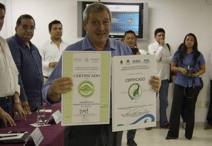 Los certificados recién entregados acreditan a más de 10 instituciones. (Redacción)