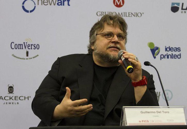 Guillermo del Toro, ganador del premio Oscar, declaró en el Festival Internacional de Cine de Guadalajara que es un buen momento para celebrar el cine mexicano. (Notimex)