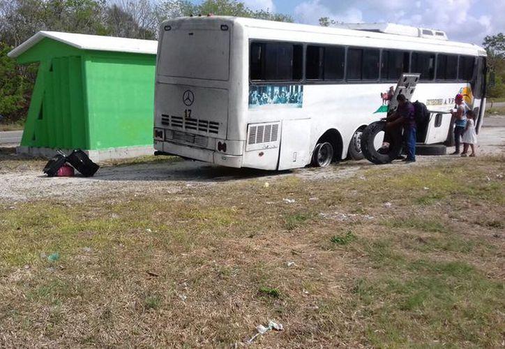 El autobús tenía como destino la ciudad de Cancún. (Redacción)