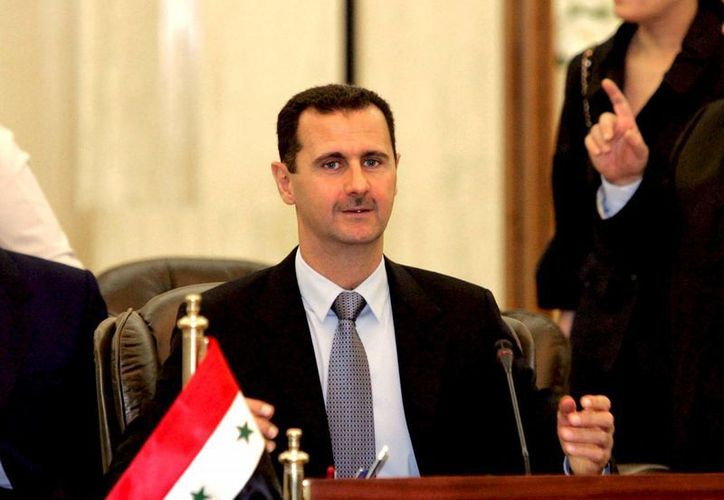 Assad señaló que sigue de cerca lo que acontece en Washington. (EFE)