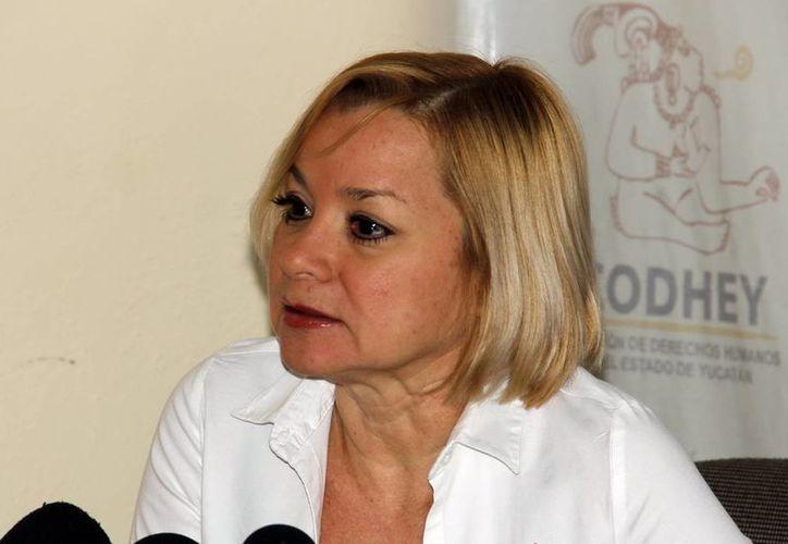 Marcia Lara, integrante del Consejo Consultivo de Protección a la Fauna, pide a las autoridades no desaprovechar su experiencia. (SIPSE)