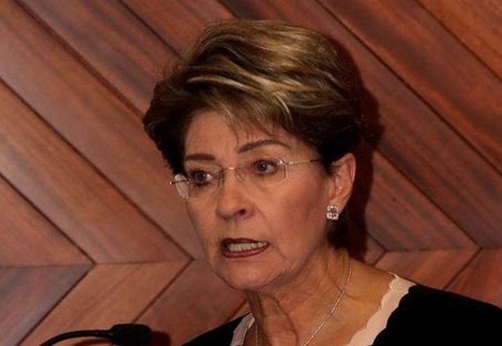Mercedes Juan López dijo que su grupo de trabajo se caracteriza por su  gran experiencia, profesionalismo y capacidad. (Notimex)