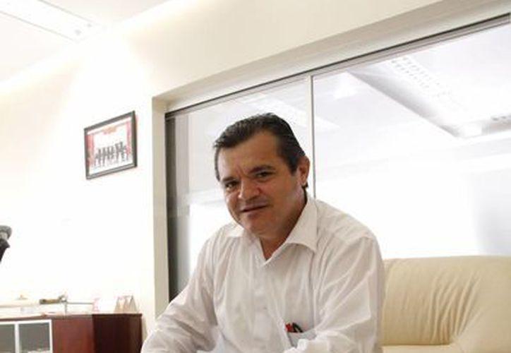 Edgar Conde Valdez, presidente de la CMIC en Yucatán. (SIPSE)
