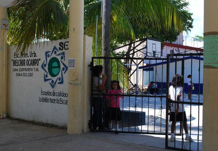 El padrón en el estado es cercano a los 500 planteles que continúan activos en el programa. (Tomás Álvarez/SIPSE)
