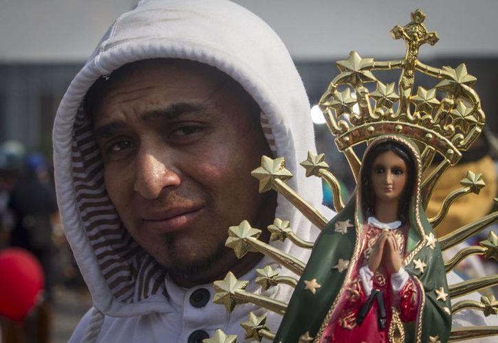Se estima que aproximadamente siete millones de peregrinos han visitado la Basílica de Guadalupe para conmemorar el 485 aniversario de las apariciones de la Virgen. (Notimex)