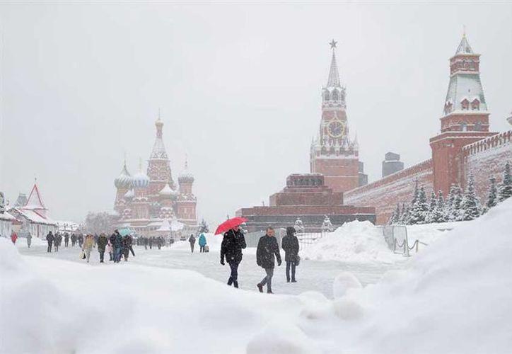 Las autoridades llamaron a los moscovitas a abstenerse, en lo posible, de utilizar sus automóviles. (Contexto)