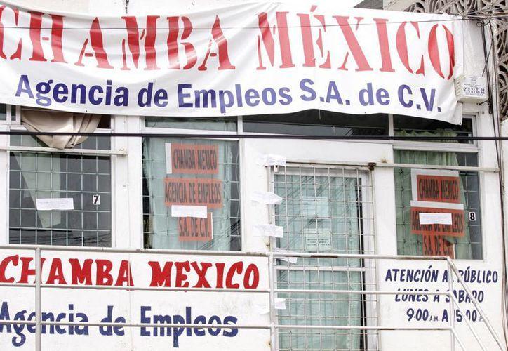 Las oficinas de Chamba México en todo el país se encuentran cerradas. (Archivo/Notimex)