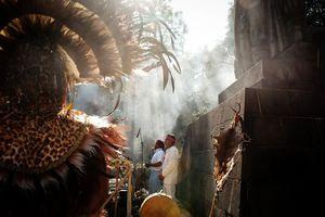 Conquistan los mayas la capital del país