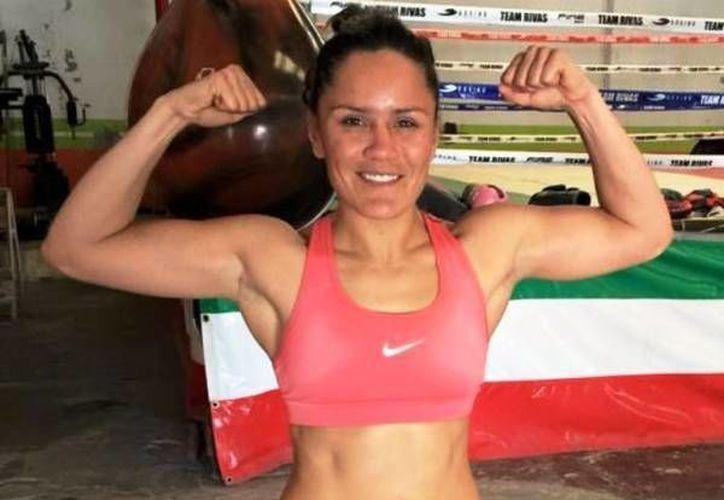 'La Rusita' Rivas llega como la víctima en el combate por el cetro supergallo de la OMB, que se llevará a cabo el próximo sábado 14 de enero.(Archivo/SIPSE)