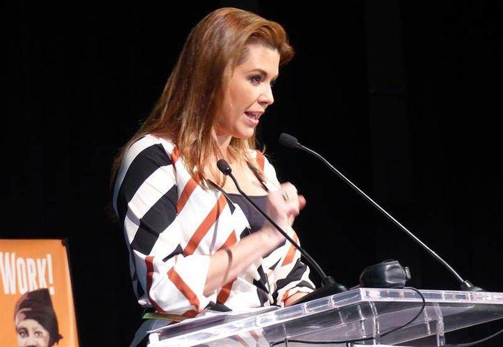 En el primer debate entre los candidatos a la Presidencia de EU, Hillary Clinton hizo mención al caso de Alicia Machado, quien ha sido criticada por Trump. (Notimex)