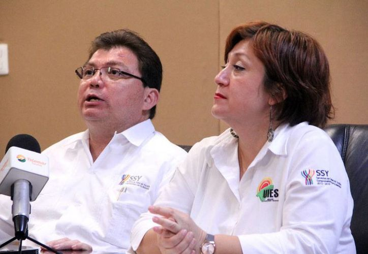 El secretario de Salud, Jorge Mendoza Mézquita, habló sobre los avances de la investigación sobre la vacuna contra el dengue. (Archivo/Milenio Novedades)