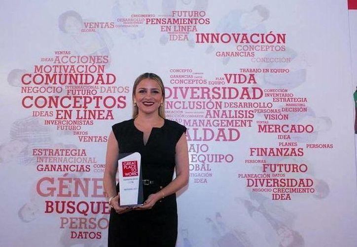 Aracelly Ramírez dirige uno de los mejores lugares para trabajar, en materia de equidad de género. (Milenio Novedades)