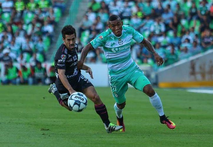 Santos Laguna logró su primer triunfo del Torneo Apertura 2016, al vencer 1-0 al equipo León. (Liga MX)