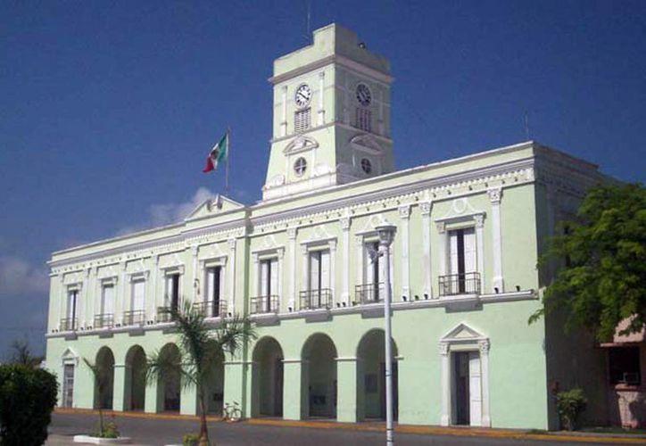 Instalaciones del Palacio Municipal de Progreso. (SIPSE)