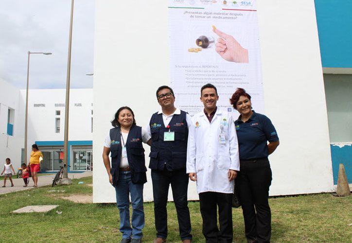 El sector salud pide a los ciudadanos que no se automediquen (Adrián Barreto/SIPSE).