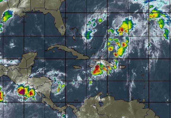 Los vientos oscilarán en los 17 kilómetros por hora en Cancún. (Intellicast)