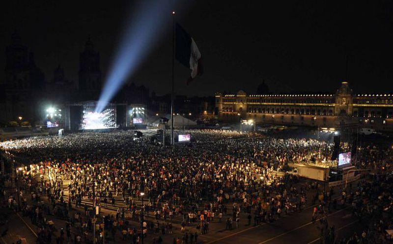 Artistas cantarán por México en el Zócalo