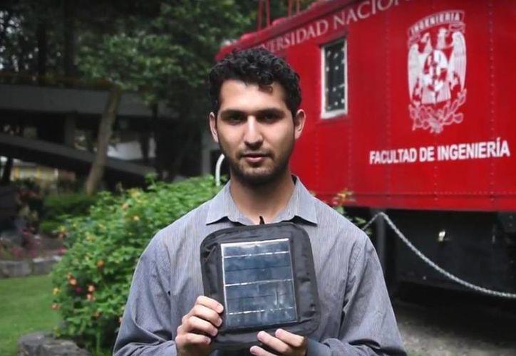 Alejandro David Crespo López  piensa crear un programa para obtener recursos federales y de empresas privadas para llegar de forma gratuita a zonas marginadas. (Captura de pantalla/Youtube)