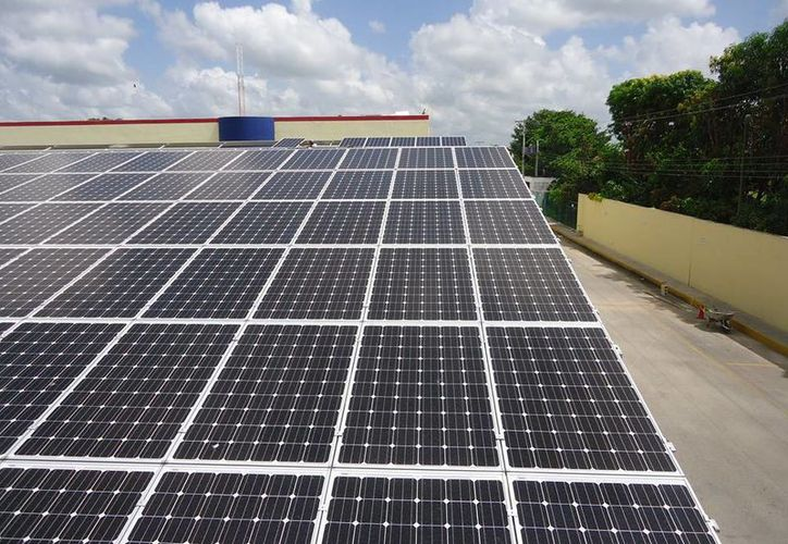 La planta solar que atenderá el consumo de energía de La Lupita tiene una capacidad de 324 kilowatts, que es equivalente a lo que requieren 400 casas de interés social. (SIPSE)