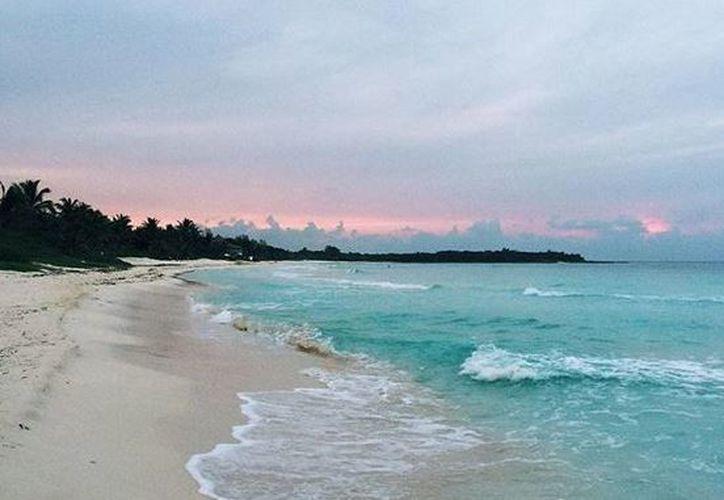 """Xpu-Ha es un nombre maya que significa """"estero de dos aguas"""". (Pinterest)"""