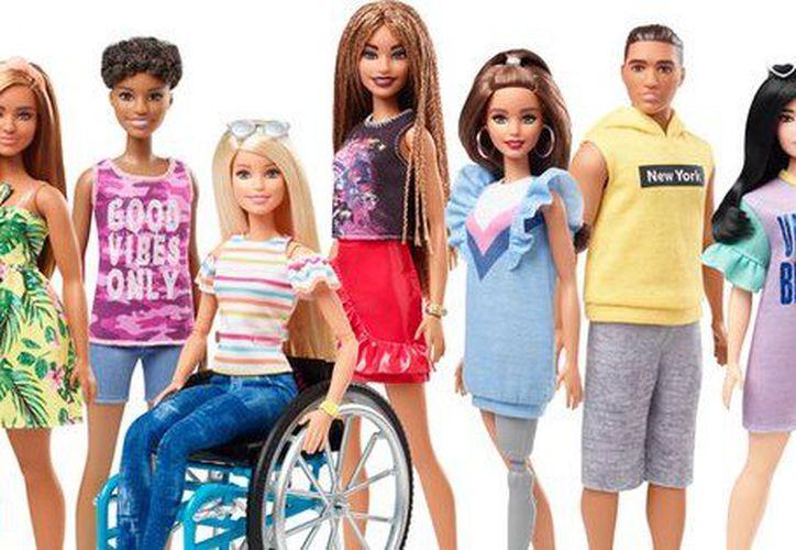 Mattel anunció que este año saldrá a la venta una Barbie en silla de ruedas. (Mattel)