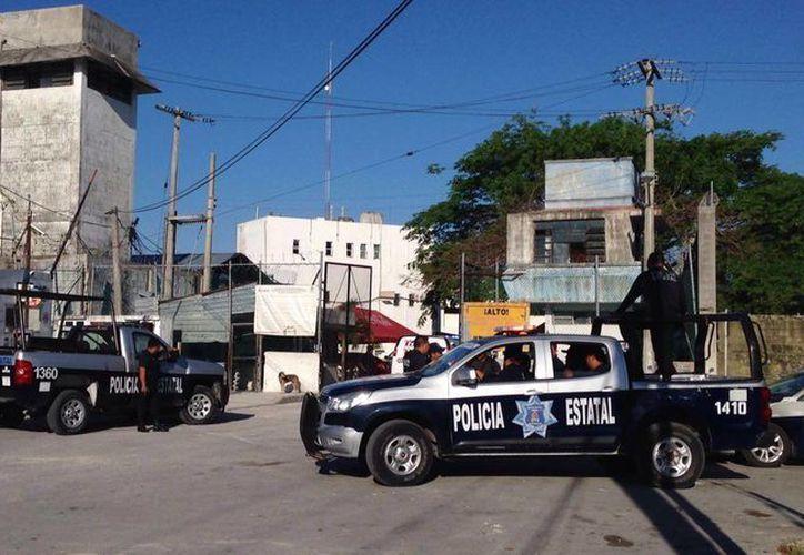 Los elementos policíacos pidieron el apoyo del ejército para atrapar a Julián N. (Redacción/SIPSE)