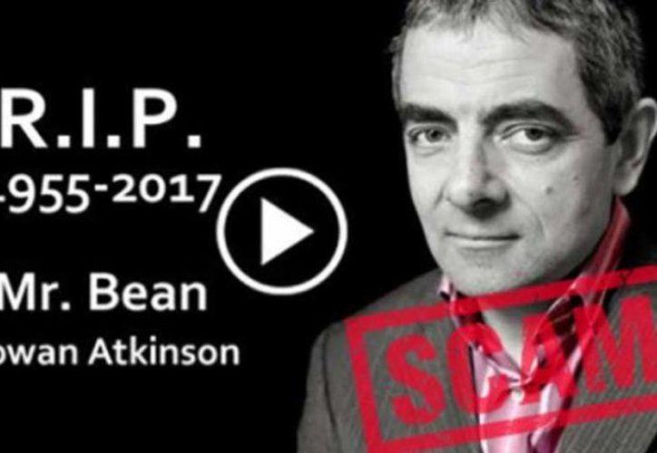 Una vez más las redes sociales han matado a Rowan Atkinson. (La Vanguardia)