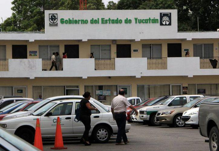 Instalaciones de la Contraloría General del Estado. (José Acosta/SIPSE)