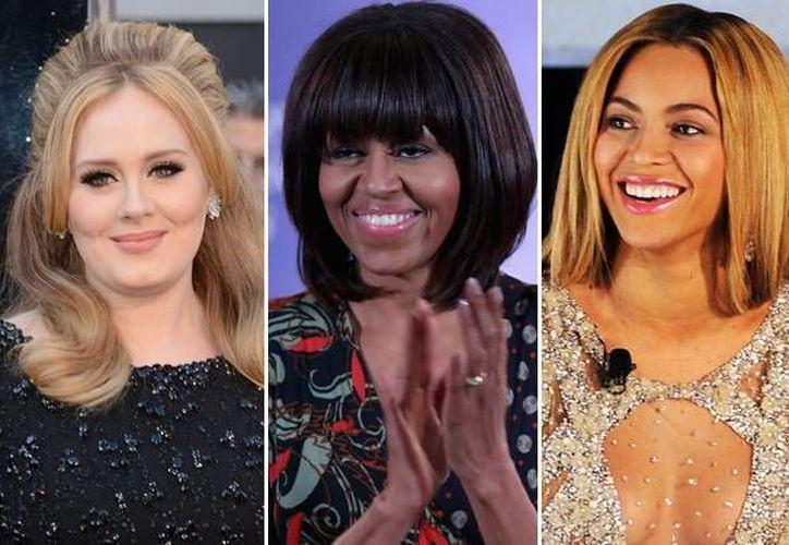 Las tres mujeres que protagonizarán el festejo del 17 de enero de 2014. (popcrush.com)